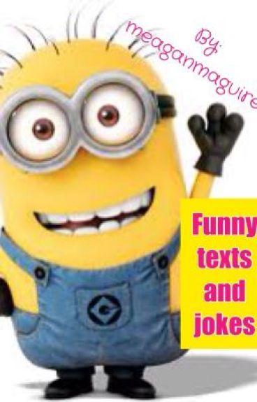 Funny texts and jokes