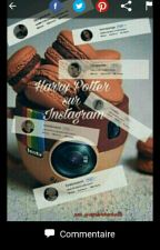 Harry Potter sur Instagram by avalonbuchette