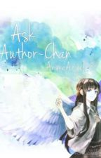 Ask Author~Chan by AnimeAngel04