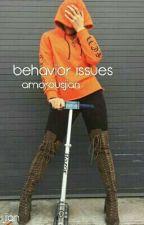 Behavior Issues •Jian by amorousjian