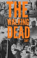 the walking dead shit by dixonbros