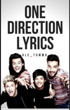 one direction lyrics [all albums] by Ale_Tommo