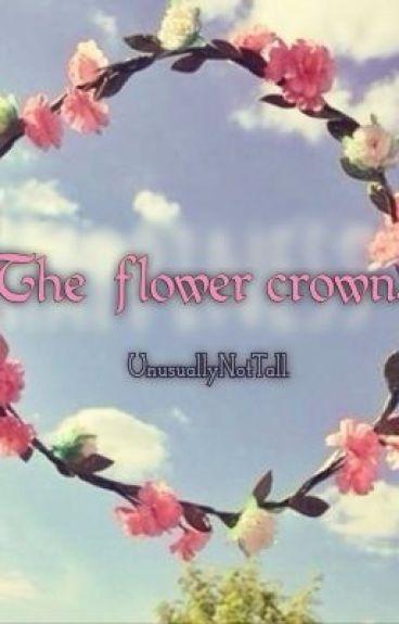 The flower crown. (AU. Punk!Louis-FlowerChild!Harry)