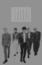 high school • vkook by cyatae
