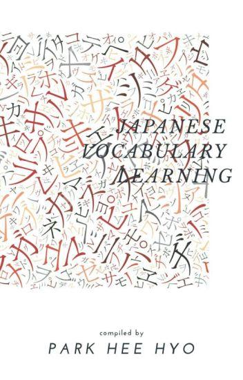 JAPANESE VOCABULARY LEARNING