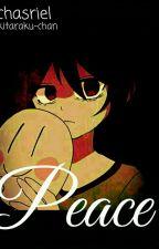 P E A C E // CharaxAsriel • Chasriel // by Kitaraku-chan