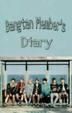 Bangtan Member's Diary  by JmnPrk101995