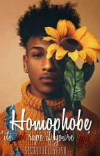 Homophobe  by secretjellyfish