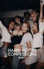 Harry Potter Confessions  ▸ Parte 1 by -vxgue