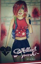 Artbook w paski ♥  by xKarotKa