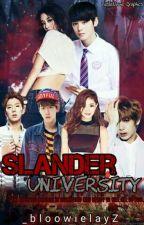 Slander University:The Badass Agent by _bloowielayZ