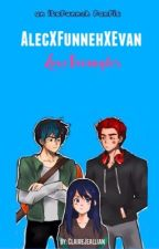 Alec X Funneh X Evan (Love Triangle)  by ClaireJeallian