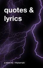 Quotes & Lyrics by letmelovehunter