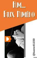Hum...faux Numéro  by luane41150