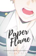 Paper Flame (Katsuki bakugou X Reader) by HerBoots
