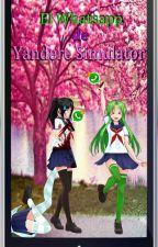 El grupo de whattsapp [Yandere Simulator] by KamiraZK