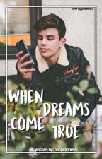 When dreams come true.(Hayes Grier Fan Fiction) by Babyminnie26