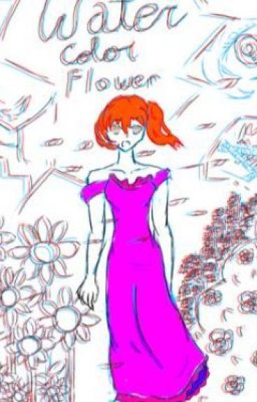 Watercolor Flowers (a series) by austinbryanlindain
