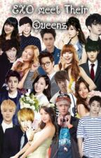 EXO meets their Queens <3 by cygasai