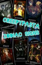 Creepypasta Zodiac Signs  by DawnWTB