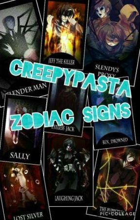 Creepypasta Zodiac Signs  by SamWTB