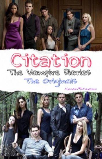 Image De Citation Citation Amour Vampire Diaries