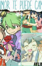 El amor te puede cambiar (Amourshipping Contestshipping Penguinshipping) pokémon by Aylin45879