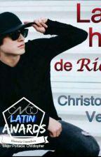 La Hija De Ricky -Christopher Vélez by BrisiaParraAraujo
