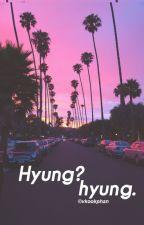{V-TRANS} [VKOOK] HYUNG?HYUNG. by 2Angels_Fanfic