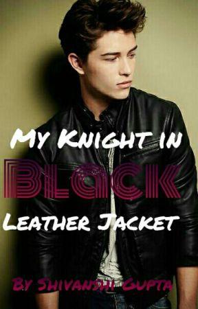 My Knight in Black leather jacket by shinugupta