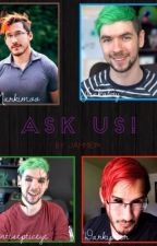 Ask us! (Ask/dare Mark, Jack, Dark and Anti) by Jammie114