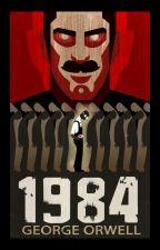 "Джордж Оруэлл ""1984"" by Julia_MGC"