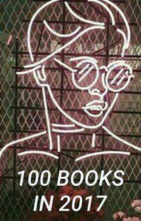 100 Books In 2017 ✔ by cliffacondakingdom