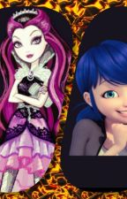 watching miraculous ladybug y ever after high by Monseagrestdupaint