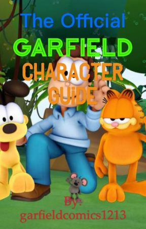 The Official Garfield Character Guide Nermal Wattpad