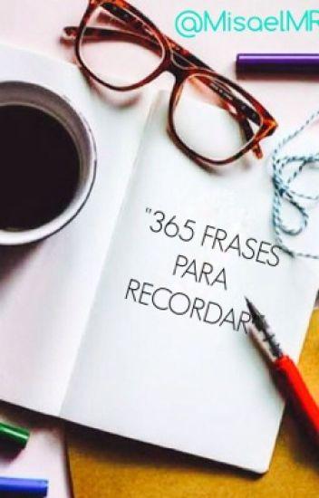 """365 Frases para Recordar"""