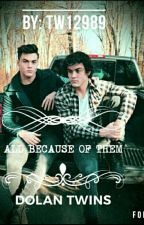 All Because of Them Dolan Twins x Reader by phil_my_senpai