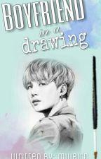 Boyfriend In A Drawing || BTS Min Yoongi by mweird