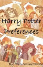Harry Potter Preferences by ClementineCarson