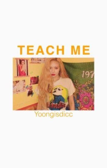 teach   m e - YoonMin