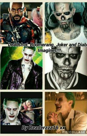 Deadshot Boomerang Joker And Diablo Imagines Diablo
