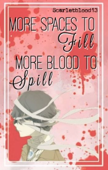 More space to Fill... More blood to spill (Dazai Osamu x reader) [ON HOLD]