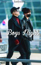 Boys Night » Jikook by kathxney