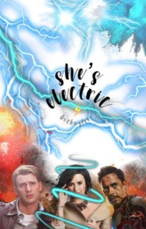 She's Electric ϟ An Avengers Story by bucknsteve