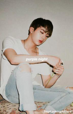 Purple Night ¦¦ Namjin💜 by softies_co