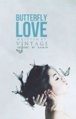 Butterfly love by vintage