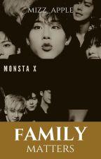 MONSTA X : FAMILY MATTERS by greenappleisme