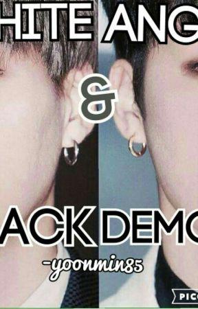 white angle & black demon[haitus] by yoonmin_is-my_otp