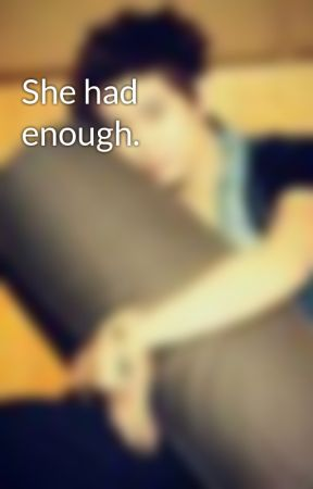 She had enough. by Chichigle