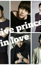 Five Prince In Love by laella72